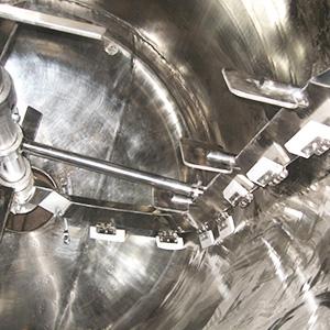 刮壁式双搅拌反应釜