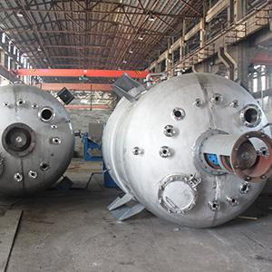 不锈钢反应釜气液反应的三种方式及其特点